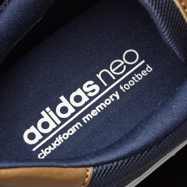 Comfortable Adidas Neo Cloudfoam Super Skate Navy Blue