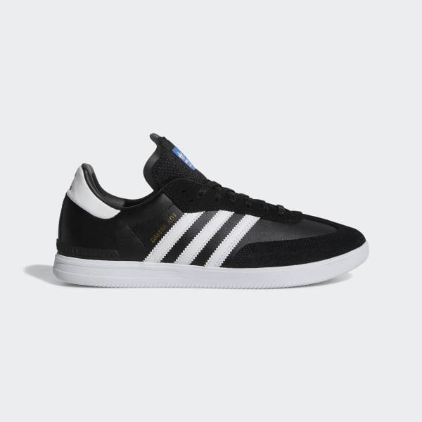 adidas Samba ADV Black & White Shoes Zumiez  adidas US