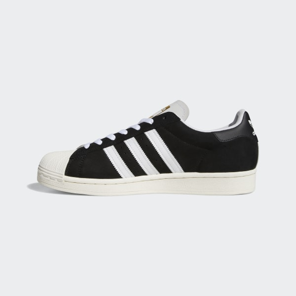Adidas Superstar Shoes White Core Black Gold Metallic
