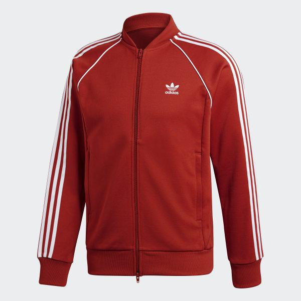adidas SST Track Jacket Orange | adidas US