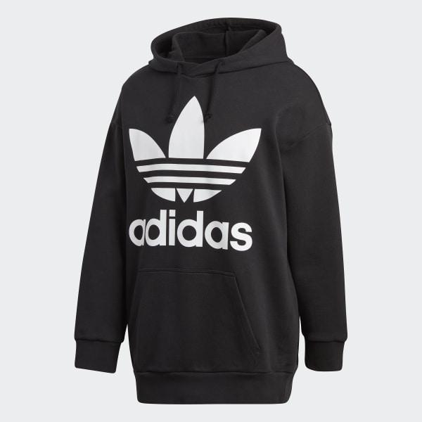 svart og hvit adidas genser jakke