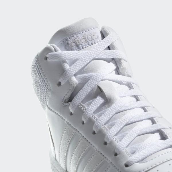 adidas Hoops 2.0 Mid Schuh Weiß   adidas Deutschland