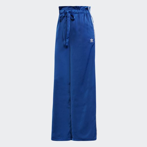 Pantalon de survêtement Satin Bleu adidas   adidas Switzerland