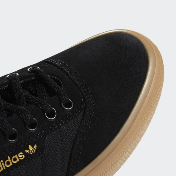 Adidas 3MC Skate Shoes Core BlackSolid GreyGum