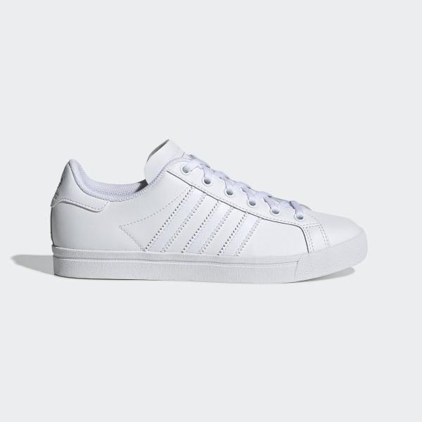 Tênis Casual Adidas Coast Star Branco Compre Agora