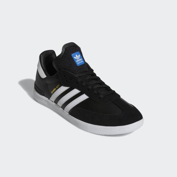 adidas Samba ADV Black, White & Gum | Men's Running Shoes