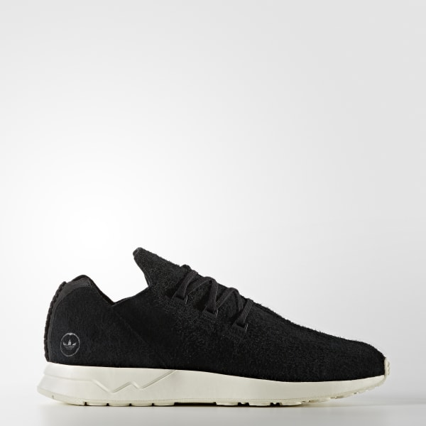 adidas Hommes Originals by wings + horns ZX Flux ADV Leather Shoes Black | adidas Canada