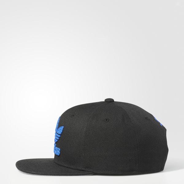 adidas Trefoil Chain Snapback Hat Black | adidas US