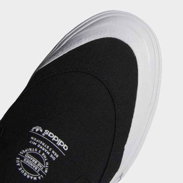 adidas Skateboarding Matchourt Slip Shoes (core black white)