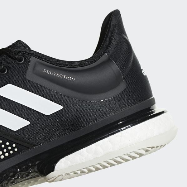 Chaussure SoleCourt Clay Noir adidas | adidas France