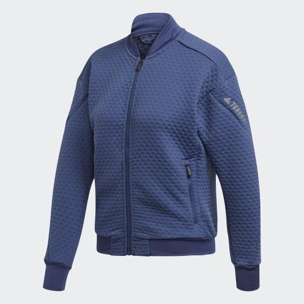 adidas Casaco em Fleece Hike TERREX Azul | adidas Portugal