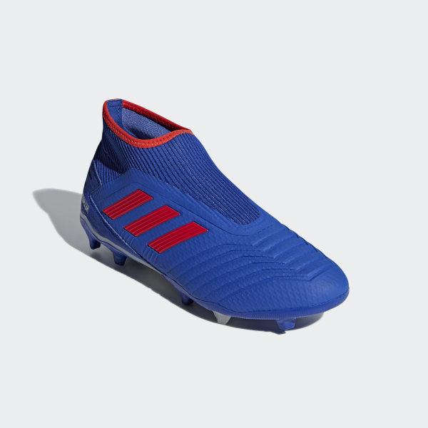 adidas Predator 19.3 Laceless Firm Ground Boots Blue | adidas UK