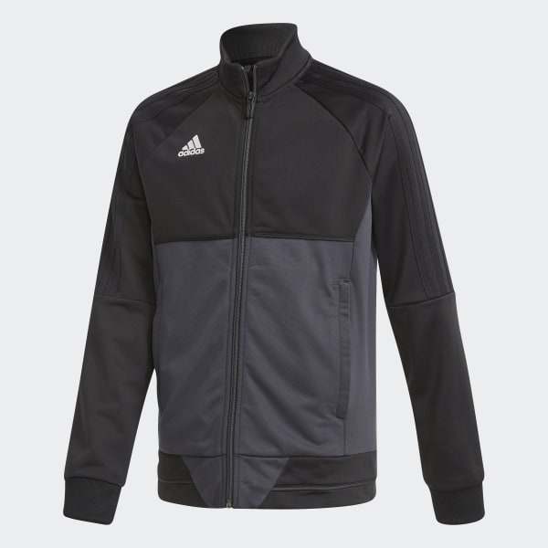 Adidas Tiro 17 Damen Trainingsjacke schwarz weiß