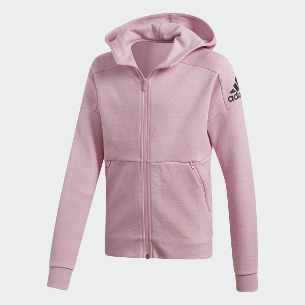 catch official look out for adidas ID Stadium Hooded Trainingsjacke - Rosa | adidas Deutschland
