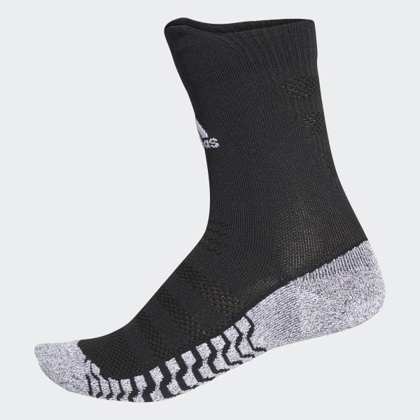 meilleurs tissus pour toute la famille belles chaussures Chaussettes mi-mollet Alphaskin Traxion Ultralight - Noir adidas   adidas  France