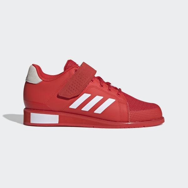 Adidas Power Perfekt Information Ii Vit Röd Skor Träning