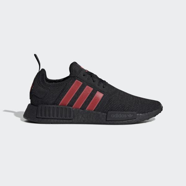 Adidas Originals Suede Shoes Mens Black Red Origin Inspired