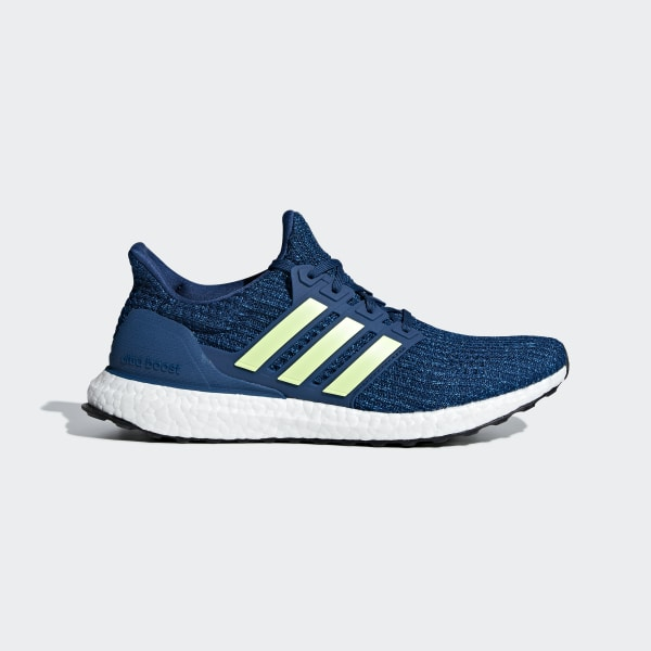 Adidas Ultra Boost Mens Running Shoes All Blue Latest