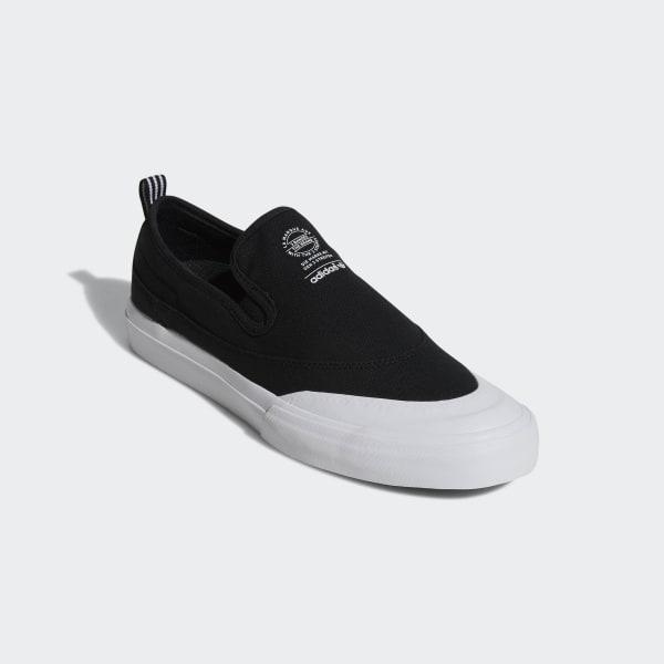 adidas Matchcourt Slip on ADV Shoes Black | adidas UK