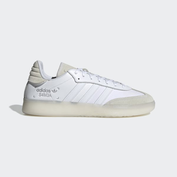 Zapatillas adidas Samba RM | Blanco Beige Negro Hombre