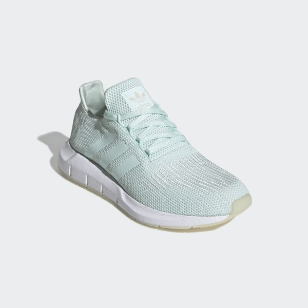 ADIDAS Swift Run Ice Mint & Off White Womens Shoes MINT