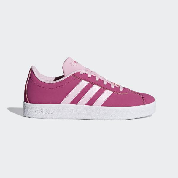 adidas vl court k chaussures fille femme