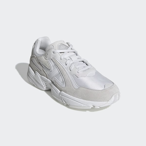 Adidas Men's Originals Yung 96 Chasm Crystal WhiteCrystal WhiteCloud White