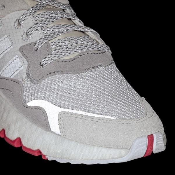 Adidas Nite Jogger cloud whitecrystal whiteshock red ab 79
