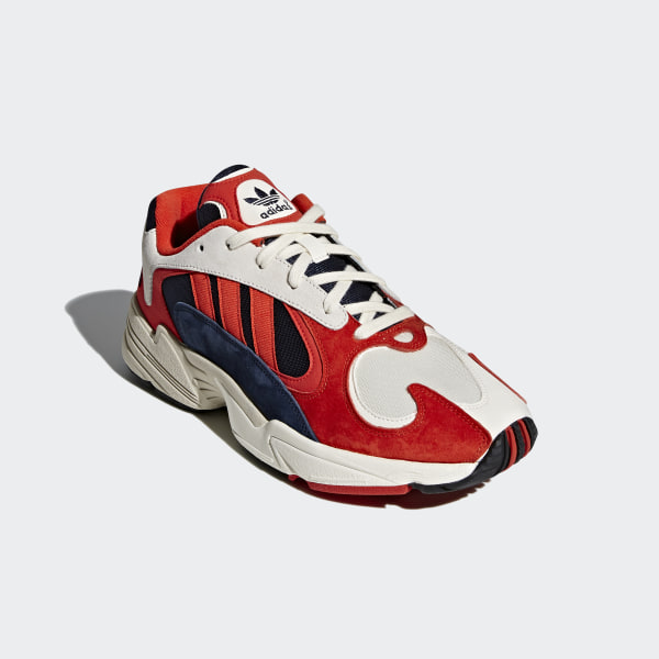 adidas Originals – Yung 1 – Sneaker in Rot Bunt