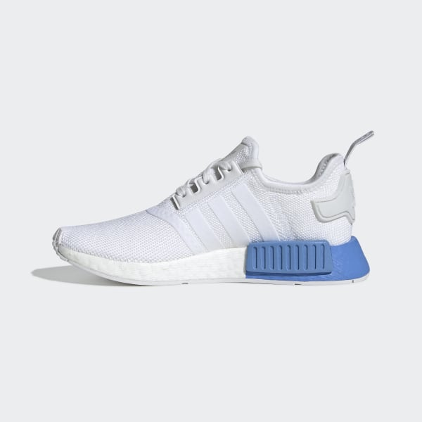 adidas white and blue nmd Shop Clothing