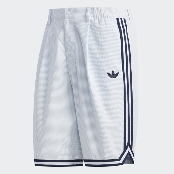 ADIDAS FT Denim Shorts for Men Blue
