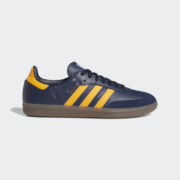 release date: newest best selling adidas Samba OG Shoes - Blue | adidas Australia