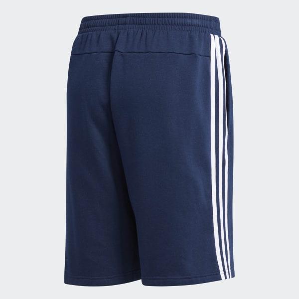 adidas Essentials 3 Stripes Shorts Blue | adidas US