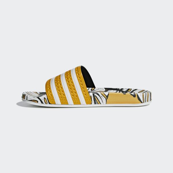adidas Adilette Slides Yellow | adidas US
