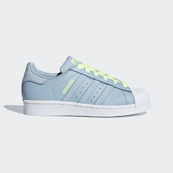 adidas superstar grey blue