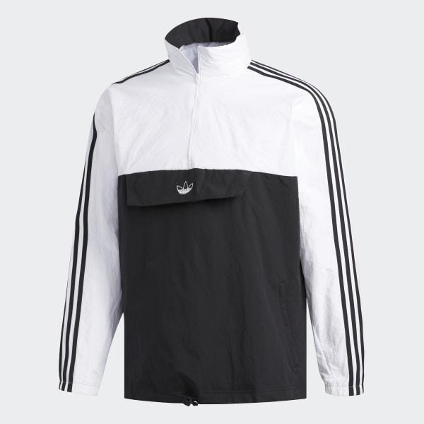 adidas Outline Half Zip Anorak Jacke Schwarz | adidas Deutschland