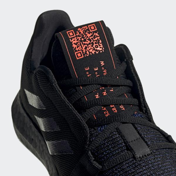 Zapatillas para correr Senseboost GO Negro adidas | adidas Peru