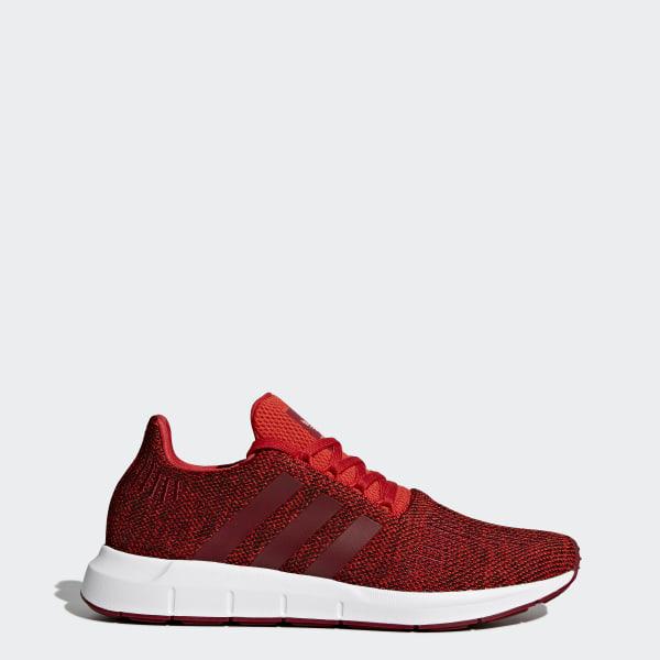 adidas Mens Swift Run Shoes,RedCollegiate BurgundyWhite,11 M US