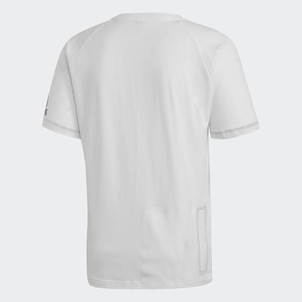 adidas ZNE 3ST Tee T Shirt Weiss Schwarz