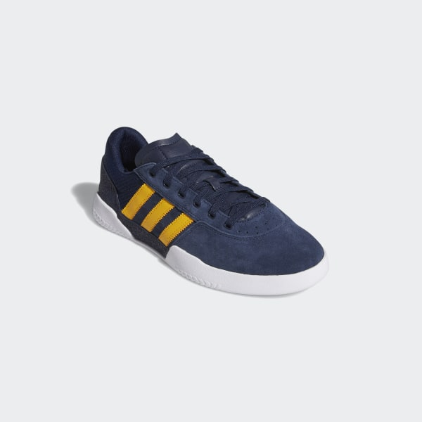 Adidas City Cup Navy White Gum Suede Skateboard Shoes Casual