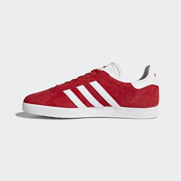 zapatillas gazelle adidas mujer rojas
