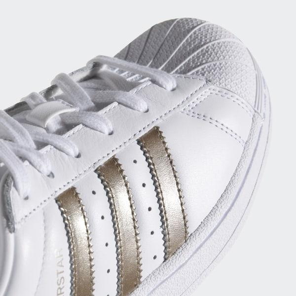 adidas superstar silver metallic