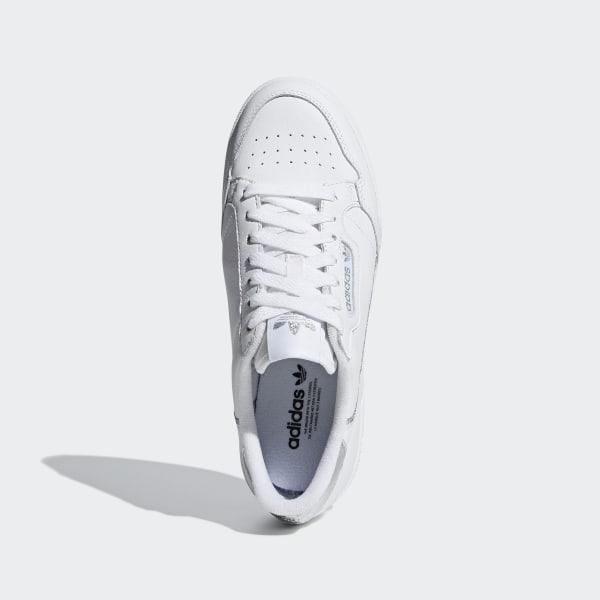Adidas Continental 80 Women ftwr whiteftwr whitesilver
