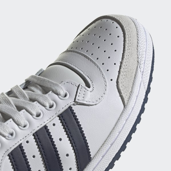 Adidas Top Ten Hi Kinder Basketball Schuhe (Weiß),SKU#0239