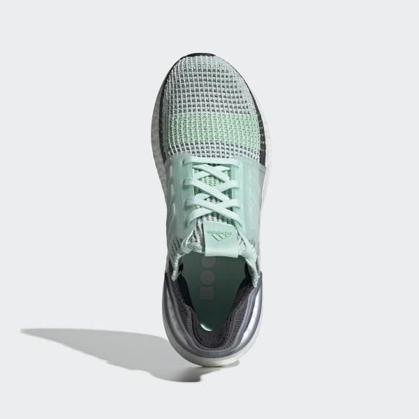 Running Schuhe adidas UltraBOOST 19 W Grün f35285