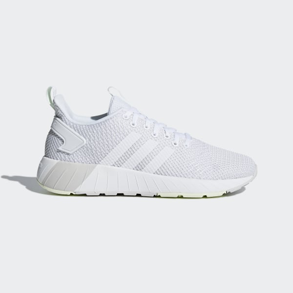 Adidas White Questar Byd Shoes for men