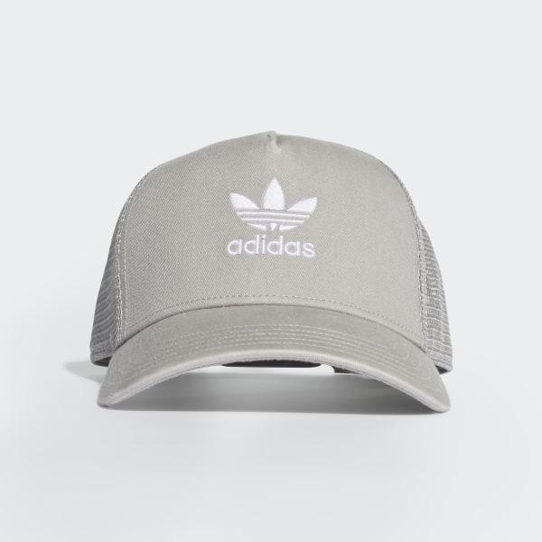 adidas Trefoil Trucker Hat Grey | adidas US