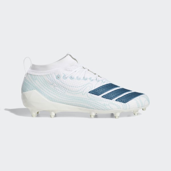 All White Adidas Football Cleats 64 Off Naonsite Com