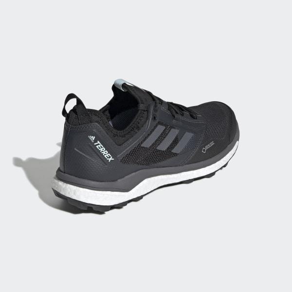 adidas Terrex Agravic XT GTX Trailrunning Schuhe Damen ash grey hi res yellow clear mint