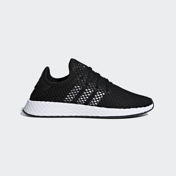 skate shoes great quality newest collection adidas Deerupt Runner Shoes - Black | adidas Australia